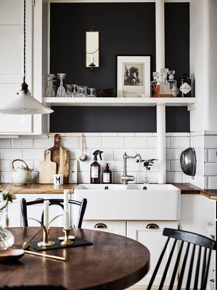 104 best farmhouse kitchen vintage modern kitchen ideas decor images on pinterest kitchens on kitchen decor themes modern id=66357