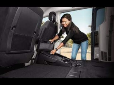 MiniVan Mike: How to remove rear stow and go seats from Caravan- Van