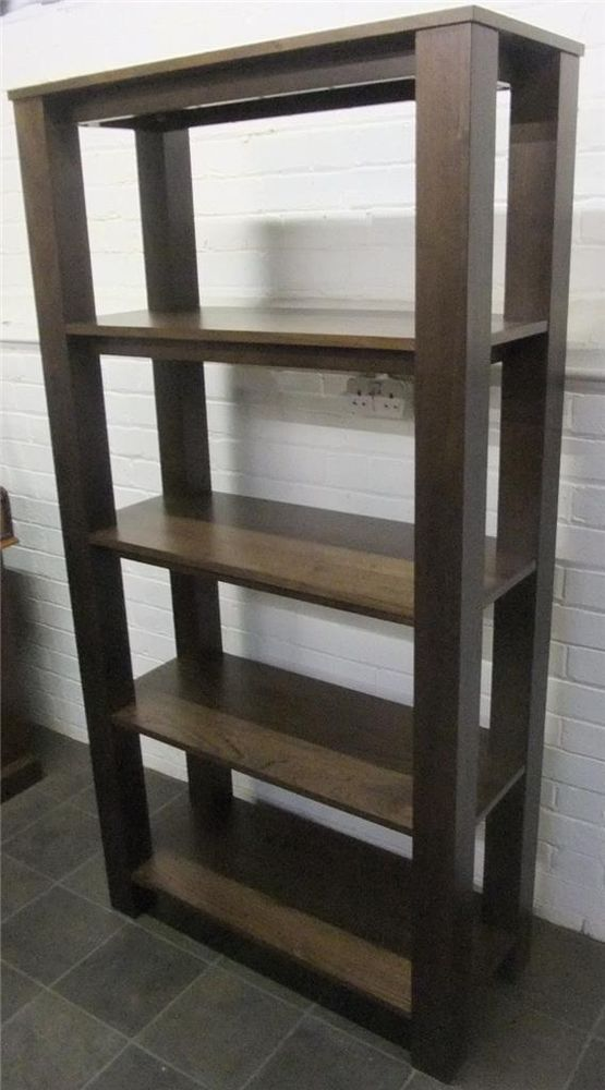 Walnut Open Bookshelves Viewings Welcomed At: Big Yorkshire Furniture 3/5  Wharf Street Shipley
