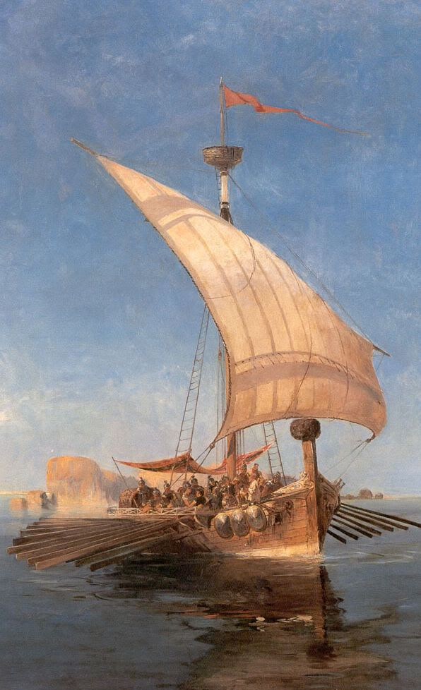 The Argo by Konstantinos Volanakis
