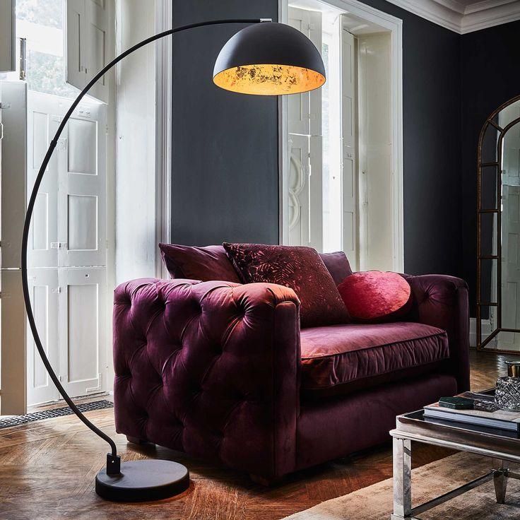 Black Arc Floor Lamp Lighting Accessories Black