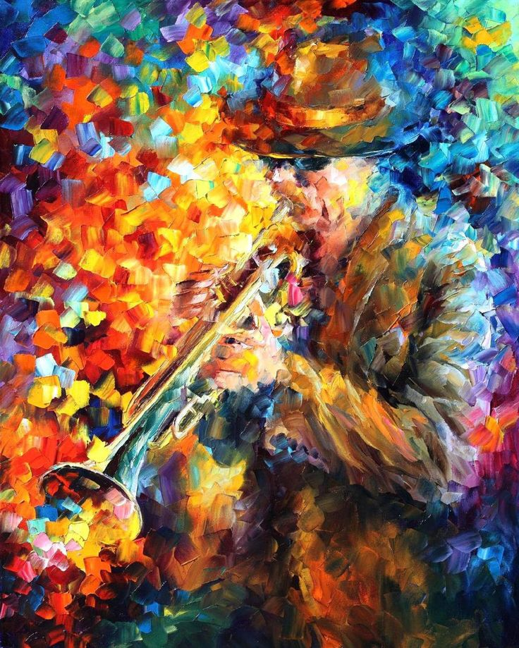Картинки красок и музыки