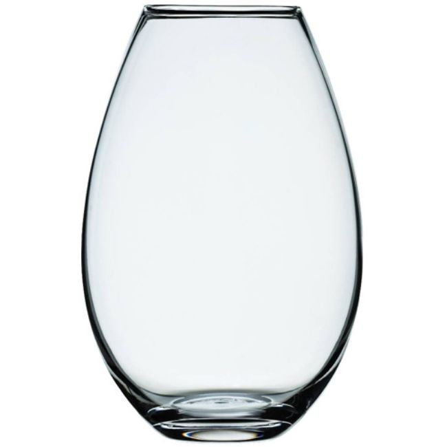 Holmegaard Cocoon Vas Small 20,5 cm Klarglas | DanskDesign.nu