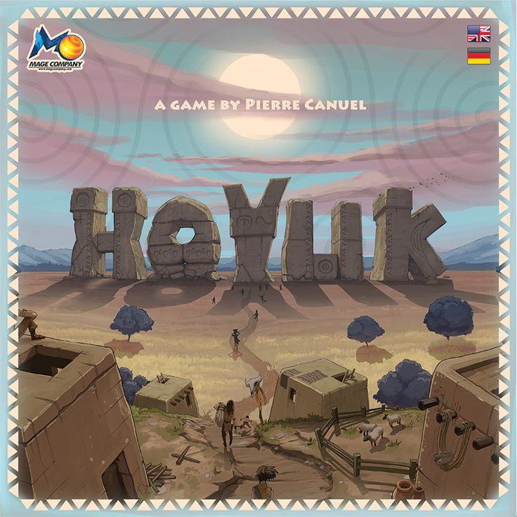 Hoyuk Box Cover. Vote it here: http://boardgamegeek.com/image/1889112/hoyuk  Hoyuk will be launched on Kickstarter on February 25h!
