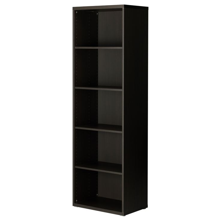 BESTÅ Shelf unit - black-brown - IKEA