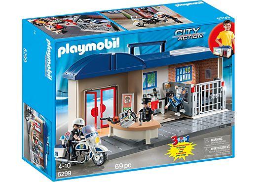 Take Along Police Station $43.95 | Playmobil Australia