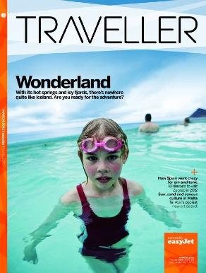 Inflight magazine cover image: Traveller (easyJet)