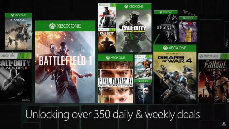 Vânzări Uriașe prin Xbox Live încep pe 22 Decembrie – Peste 350 de Oferte și Reduceri