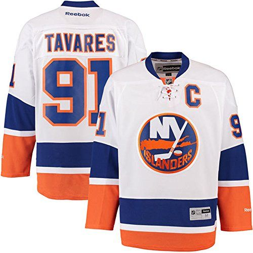 best website a98d8 05c3f NHL New York Islanders 91 John Tavares Mens Premier Jersey ...