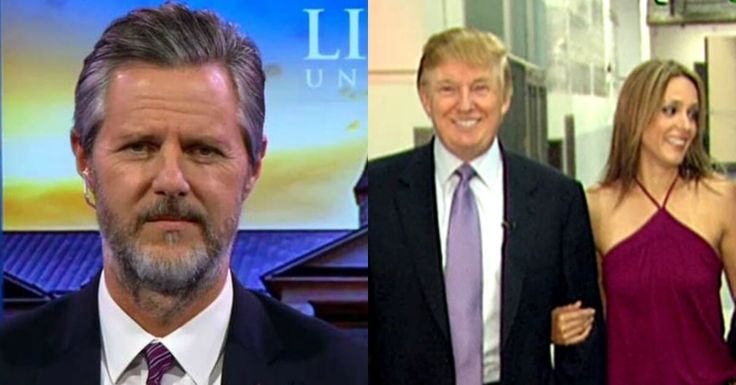 Jerry Falwell Jr. Issues Stunning Theory About Leaked Trump Tape