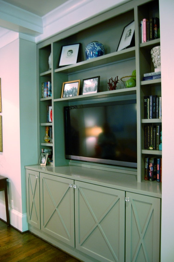 Inspirational Built In Media Cabinet