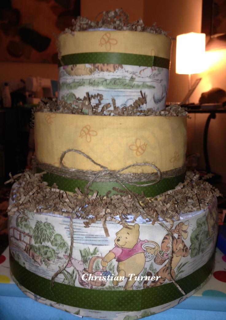 Classic Winnie The Pooh Diaper Cakes