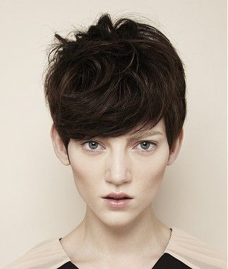 A short brown straight hairstyle Visit us for #hairstyles and #hair advice www.ukhairdressers.com