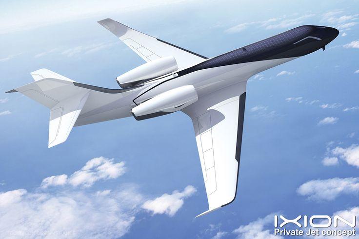 Ixion windowless jet concept creazions pinterest for Airplane exterior design