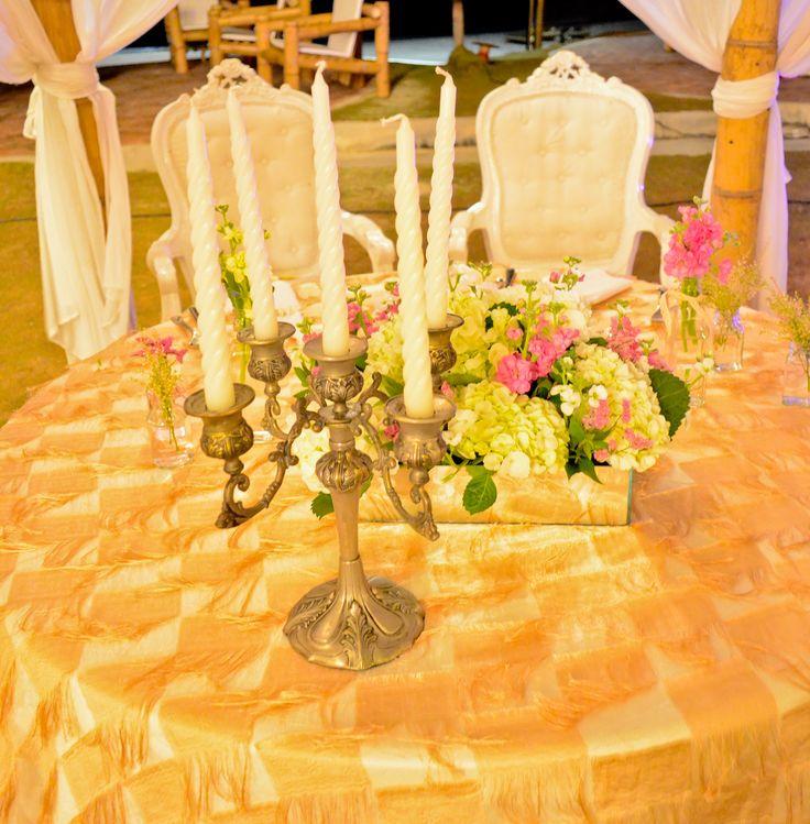 Mr & Mrs Table - Mesa novios BY MY Group Eventos