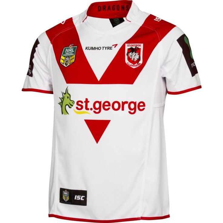 St George Illawarra Dragons 2015 Mens Home Jersey - St George Dragons Official Online Store