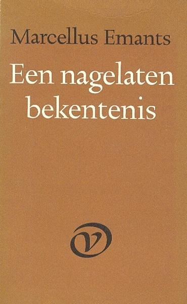 Marcellus Emants - Een nagelaten bekentenis.