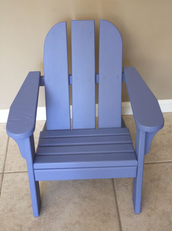 Vintage Child's Wooden Adirondack Chair by ...