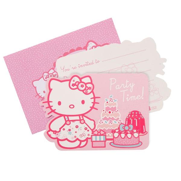 Hello Kitty Party Invitation Cards £2.99 10pk
