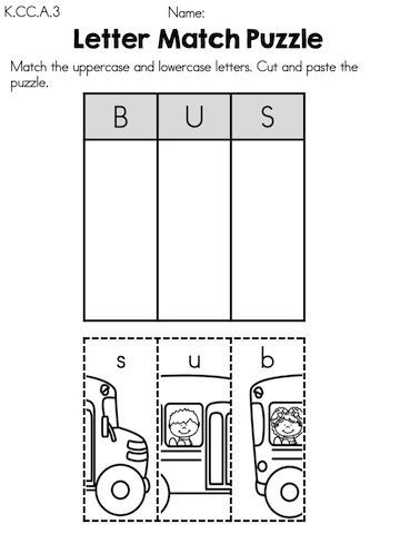 Free printable Kindergarten writing Worksheets, word lists and ...