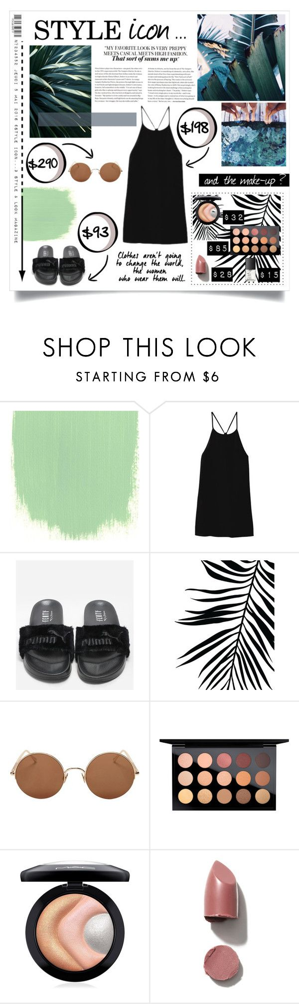 """Summer style"" by sherihane ❤ liked on Polyvore featuring SALAR, TIBI, Sunday Somewhere, MAC Cosmetics and NARS Cosmetics"