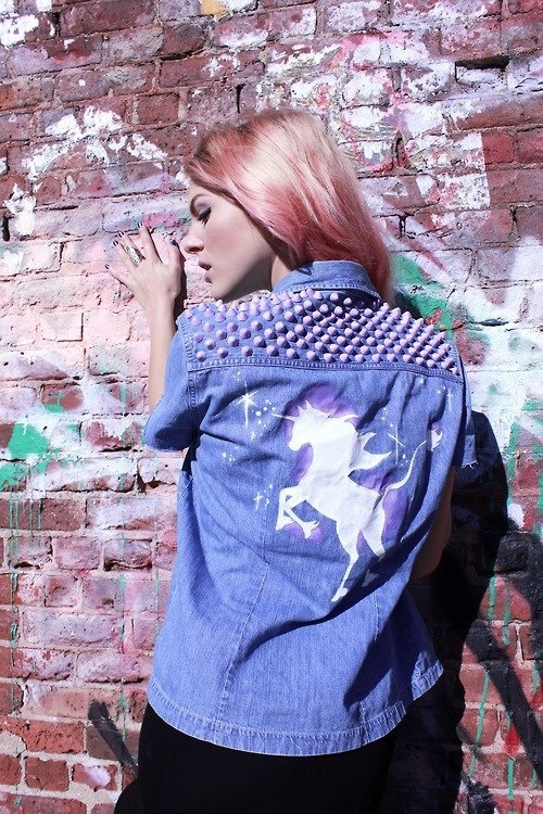 17 Best Images About Unicorn Jackets On Pinterest Vests