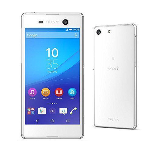 Black Friday Sony Xperia M5 E5663 Dual SIM 16GB LTE White Unlocked Smartphone Deals week 2966