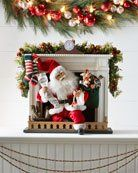 Night Before Christmas Santa