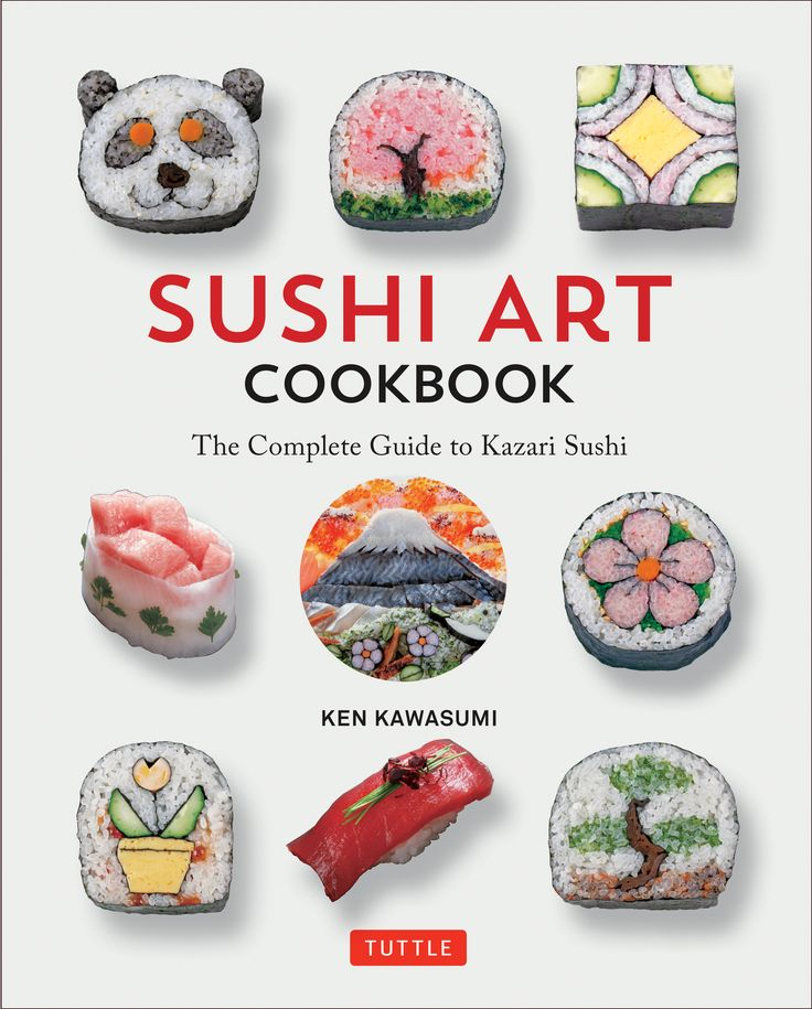 """This fun and instructive guide from Kawasumi, one of Japan's most highly acclaimed sushi chefs and a principal lecturer at the Japanese Sushi Institute, teaches home cooks to create exquisite maki and sushi that are almost too striking to eat. Kawasumi has provided an excellent guide that's perfect for those looking to step up their sushi game."" ―Publishers Weekly"