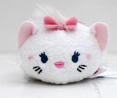 1pcs tsum mini Plush cartoon white cats Toy Soft Doll gifts 9cm Screen wipe