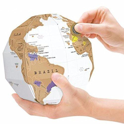 20 best scratch map images on pinterest cards scratch off and yoluke diy creative world map assembly stereo glode world map travel birthday gift publicscrutiny Image collections