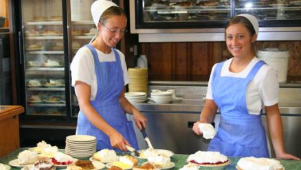 Locals and visitors alike love Boyd & Wurthmann! The oldest continuously operated restaurant in Berlin offers 15-20 pie selections daily. CLICK HERE for more about Boyd and Wurthmann at www.OACountry.com! #Amish #Berlin #Ohio