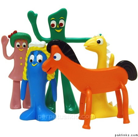 Gumby,Pokey & Friends | TV (Kid's Shows) | Pinterest