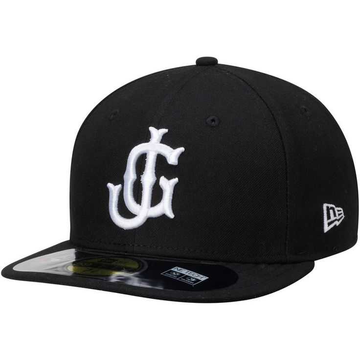 Jackson Generals New Era Authentic Home 59FIFTY Fitted Hat - Black