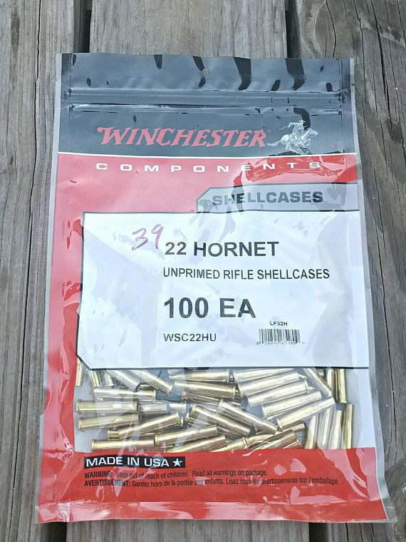 Check out this item in my Etsy shop https://www.etsy.com/listing/567124569/22-hornet-brass-winchester-22-hornet