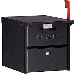 @Overstock - Provide your home with instant curb appeal with this classic roadside mailbox. The aluminum box has a slot for sending out new mail, and it comes with two keys that let you lock the back to keep prying eyes from gaining access to your mail.http://www.overstock.com/Home-Garden/Black-Salsbury-4300-Roadside-Mailbox/4791130/product.html?CID=214117 $119.99