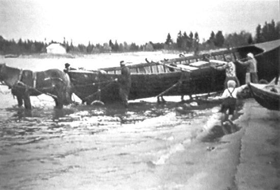 Pentti Ahtiainen - Laatokan kalastaja - lake fishing - Finland
