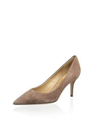 36% OFF Salvatore Ferragamo Women's Susi 70 Glas Pump (Medium Bro)