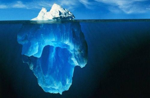 Pasul #9. Puterea unui juramant, valabilitatea unui contract. De prea putine ori te gandesti la ce implica acest angajament, care sunt costurile. Privesti de fapt doar varful aisbergului: pretul platit pentru ceea ce doar iti inchipuim ca este (vizibil deasupra apei), este cu mai mult de 10 ori mai mare, si nu se vede initiat.