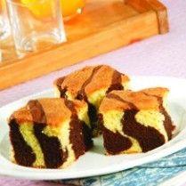 Cake Cokelat Putih