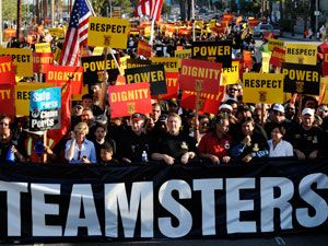 In Industry Where Few Workers Are 'Employees,' Teamsters Mount Multi-Front Attack | The Nation