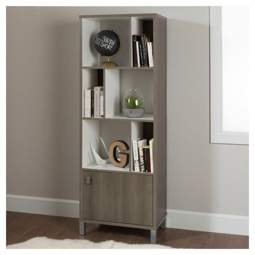 Expoz 6 - Cube Shelving Unit with Door - South Shore