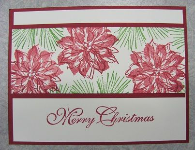 Watercolor Winter Stamp Set Stampin Up Holiday Catalog