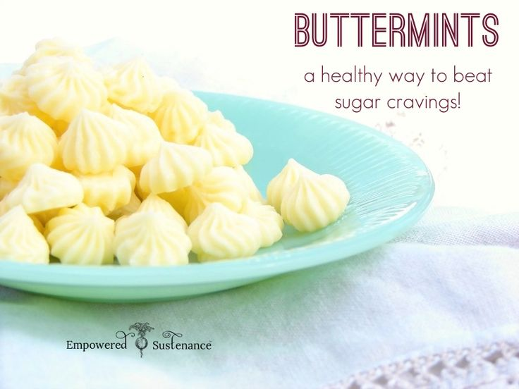 How to make buttermints, a healthy way to stop sugar cravings!