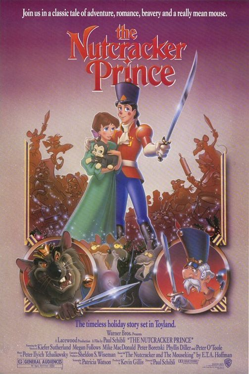 The Nutcracker Prince (1990) Loved this so much when I was little.  Still love the Nutcracker in general :)