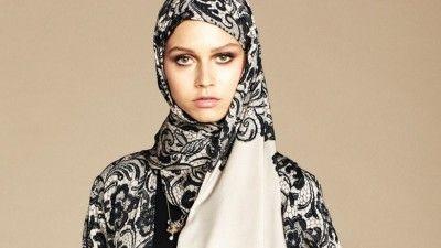 hijab dolce gabbana