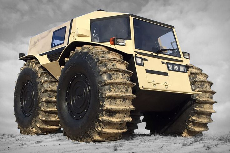 """Look at dat monster dump truck swimming in da water,"" said our resident preschooler. That's as good an introduction as any to the Sherp ATV. This Russian-made, adult-sized Tonka truck may have only 44.3 hp, but it turns on a..."