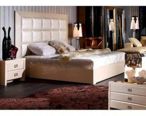 Champagne Color Bedroom Set