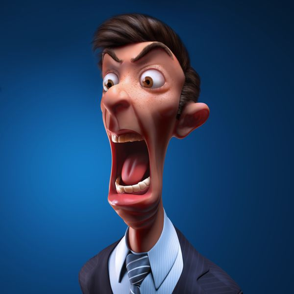 Nervous Boss on Behance ★ Find more at http://www.pinterest.com/competing/