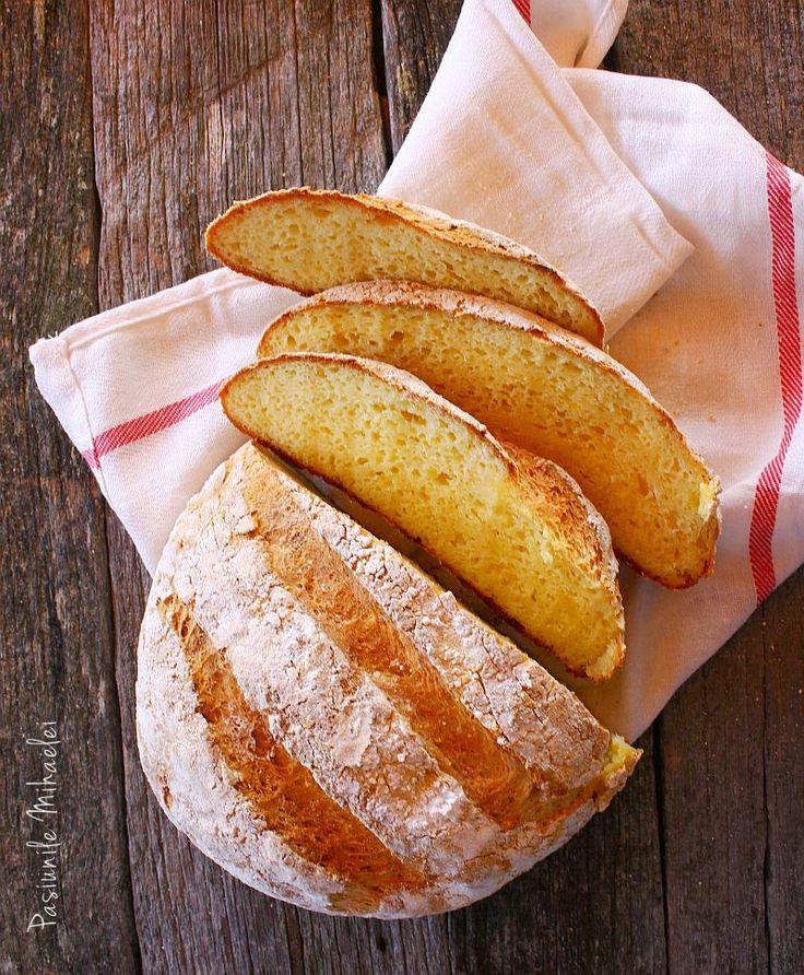 Pâine ţărănească cu cartofi, fără gluten, fără frământare | Pasiunile Mihaelei